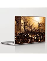 Theskinmantra Bet On love Laptop Skin Decal