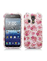 Aimo Wireless Volt Image Case for Kyocera Hydro icon C6730 /Kyocera Hydro Life C6530N - Retail Packaging - Vintage Rose/Pink