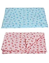 Bubbles Baby Bed Protector Changing Mat - Set of 2 (Children: S)