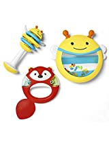Skip Hop 3 Piece Explore and More Musical Instrument Toy Set