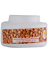 Indrani Almond Nourishing Massage cream with Vitamin 'E' Oil