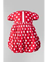 Nauti Nati Red Polka Bubble Dress Naw13-029