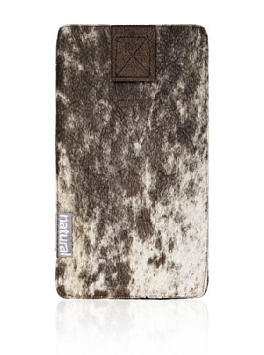 Natural iPhone Cowhide Case (Tri-Color)