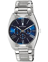 Titan GFSTL Multi-Function Analog Blue Dial Men's Watch - 9476SM03J