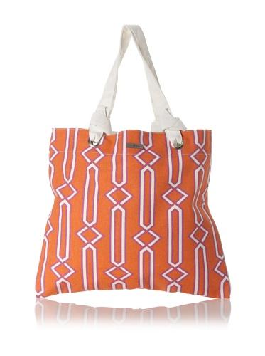 Julie Brown Reversible Shopper Tote (Jenjule/Cherry Tree)