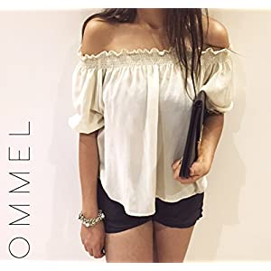 Ommel Goldschlager Off Shoulder Top