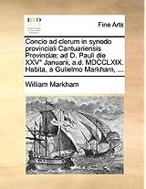 Concio Ad Clerum in Synodo Provinciali Cantuariensis Provinc