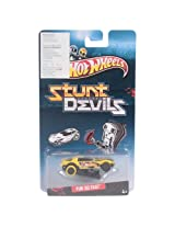 Hot Wheels Stunt Devils Vehicle Assortment Yur so Fast - Yellow