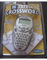 Radica Electronic HandHeld TV Trivia Crossword Game