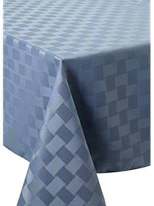 Bardwil Reflections Square Tablecloth (Stone Blue)