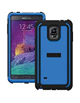 TRIDENT Samsung Galaxy Note 4 Cyclops Series Case - Retail Packaging - Blue