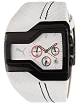 Puma Analog White Dial Men's Watch - PU100051003