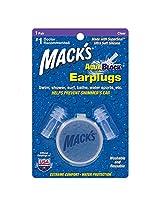 AquaBlock Ear Plugs 1 pair clear