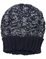 Muk Luks Men's 2 Tone Cable Cuff Cap