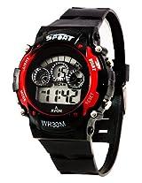 A Avon Sports Digital Black Dial Women's & Kids Watch - 1001345