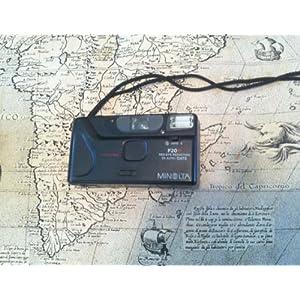 Minolta Co., Ltd. Minolta F20R Red-Eye Reduction DX Auto Focus Free 35mm Film Camera (Black Color Version)