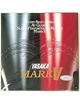 Yasaka Mark V Table Tennis rubber(Red)