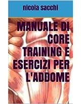 Manuale di core training e esercizi per l'addome