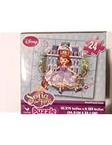 Sofia The First Disney Jigsaw Puzzle 24 Pieces Great For Beginners 3+ Packed In Cute Cube Box