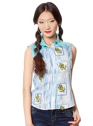 Custo Camisa (Azul / Verde)