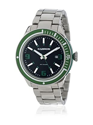K&BROS Reloj 9488 (Negro / Verde)