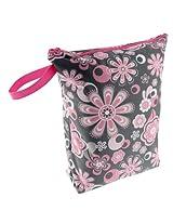 Blueberry Diaper Wet Bags, Petals