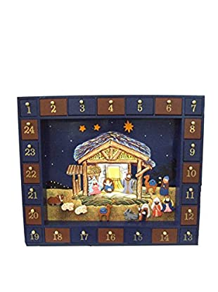Kurt Adler 25-Piece Nativity Advent Calendar