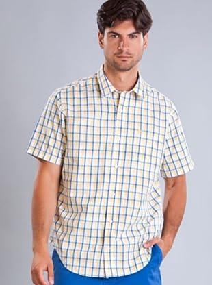 Timberland Camisa Cuadros (Amarillo / Azul / Blanco)