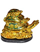 Varanasi Enterprisesfeng feng shui three tiered tortoise for health and wealth