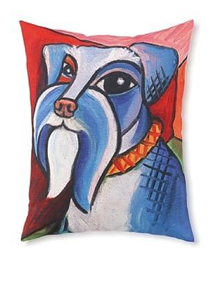 Pawcasso Schnauzer Pillow