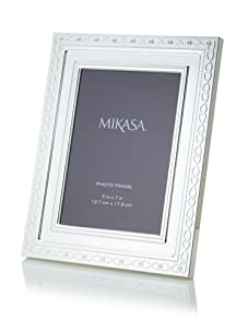 Mikasa Infinity Band Picture Frame with Cream Velvet Backing