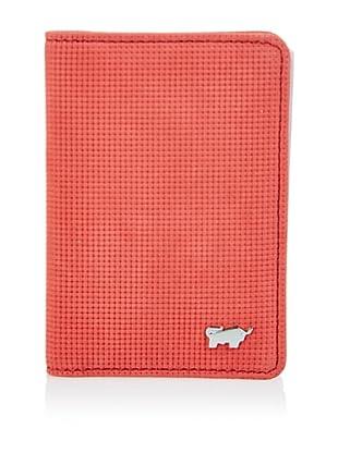 Braun Büffel Kreditkartenetui (Rot)