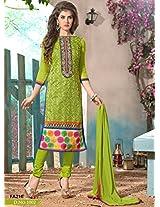 New Fashion Designer Attractive Green Salwar Suit