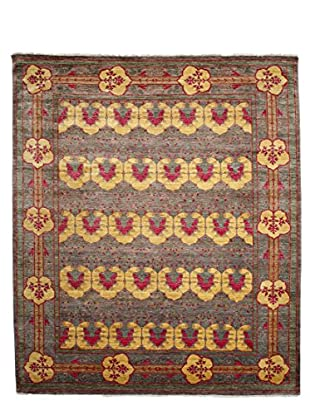 Darya Rugs Modern Oriental Rug, Yellow, 8' 2