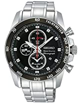 Seiko Analog Black Dial Men's Watch - SNDE69P1