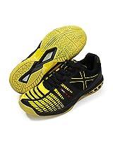 Vector X Ts 1035 Tennis Shoes, Men's UK 5 (Black/Yellow)