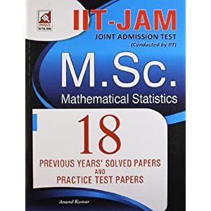 IIT-JAM: Mathematical Statistics