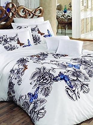 Colors Couture Bettdecke und Kissenbezug Rose
