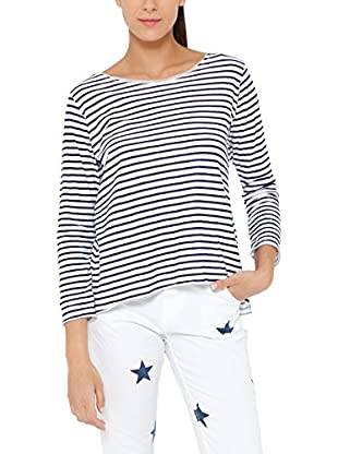 Tantra Longsleeve Striped with back printed Star