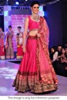 Bollywood Replica Genelia Net Lehenga In Pink Colour NC282