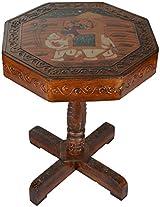 CURIO CENTRE Wooden Mini table (30 cm x 30 cm x 37 cm)