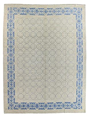 Bashian Rugs One-of-a-Kind Hand Knotted Kotan Rug, Ivory, 8' 10
