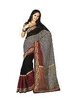 Bhavi Art Silk Printed Sari