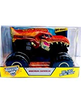 2015 Hot Wheels Monster Jam 1:24 Scale Mega-Wrex Monster Truck