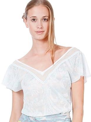 Custo Camiseta Koh Horses (Blanco)