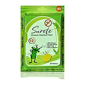 Surete Mosquito Repellent Patch (20 Patches)