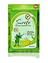 Surete Mosquito Repellent Patch (20 Patches)