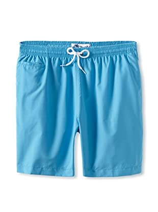 Trunks Men's San-O Swim Shorts (Aqua)