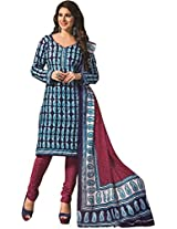 RGN Retails Cotton Unstitched Dress Material For Salwar Suits Kameez RGN-1561