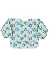 Dr. Seuss Grinch Blue Sleeved Bib